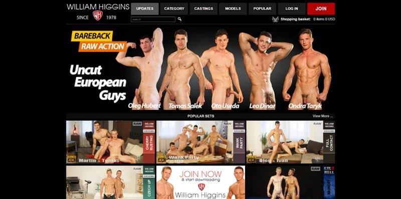 WilliamHiggins Sale Discount BlackFriday 001 gay porn pics - Holiday Discounts