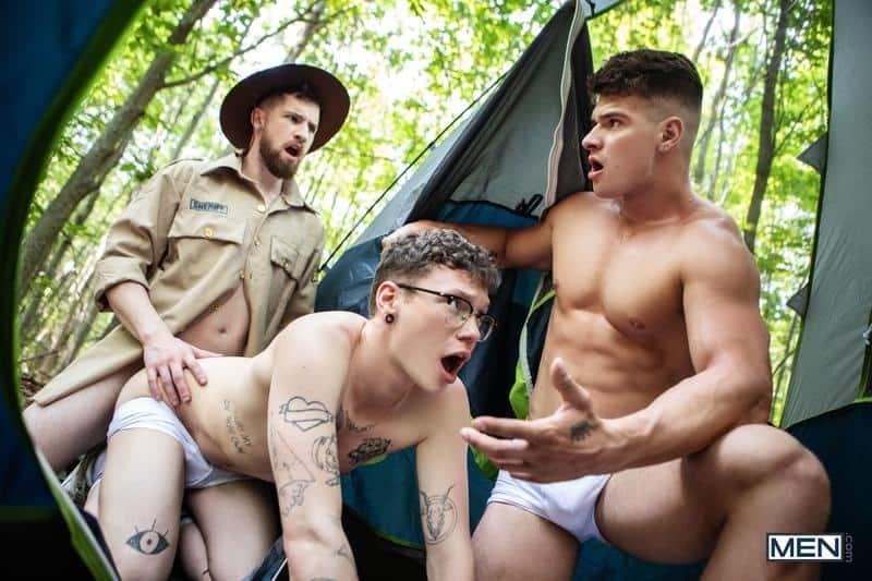 Gay scout threesome Thyle Knoxx Malik Delgaty huge dick double fucking hottie Marco Bianchi 13 gay porn pics - Gay scout threesome Thyle Knoxx and Malik Delgaty's huge dick double fucking hottie Marco Bianchi