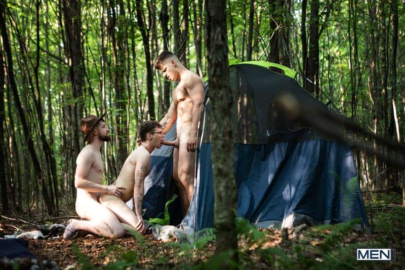 Gay scout threesome Thyle Knoxx Malik Delgaty huge dick double fucking hottie Marco Bianchi 16 gay porn pics - Gay scout threesome Thyle Knoxx and Malik Delgaty's huge dick double fucking hottie Marco Bianchi