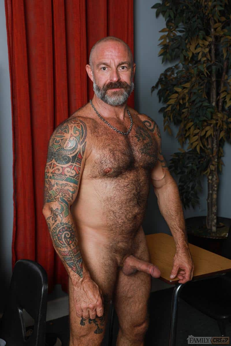 Hairy older Musclebear Montreal hot asshole bare fucked young hottie Adrian Rose huge dick 0 gay porn pics - Hairy older Musclebear Montreal's hot asshole bare fucked by young hottie Adrian Rose's huge dick