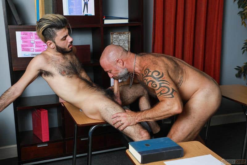 Hairy older Musclebear Montreal hot asshole bare fucked young hottie Adrian Rose huge dick 13 gay porn pics - Hairy older Musclebear Montreal's hot asshole bare fucked by young hottie Adrian Rose's huge dick