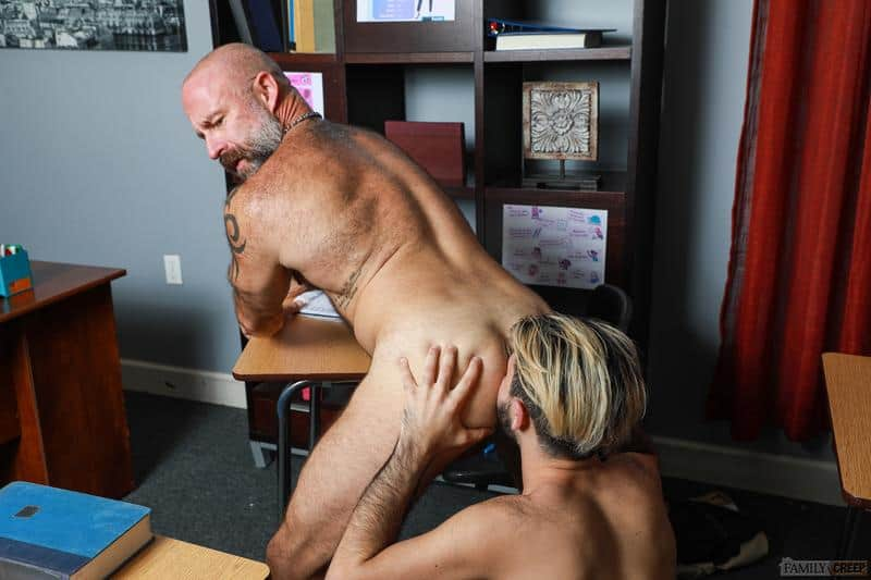 Hairy older Musclebear Montreal hot asshole bare fucked young hottie Adrian Rose huge dick 8 gay porn pics - Hairy older Musclebear Montreal's hot asshole bare fucked by young hottie Adrian Rose's huge dick