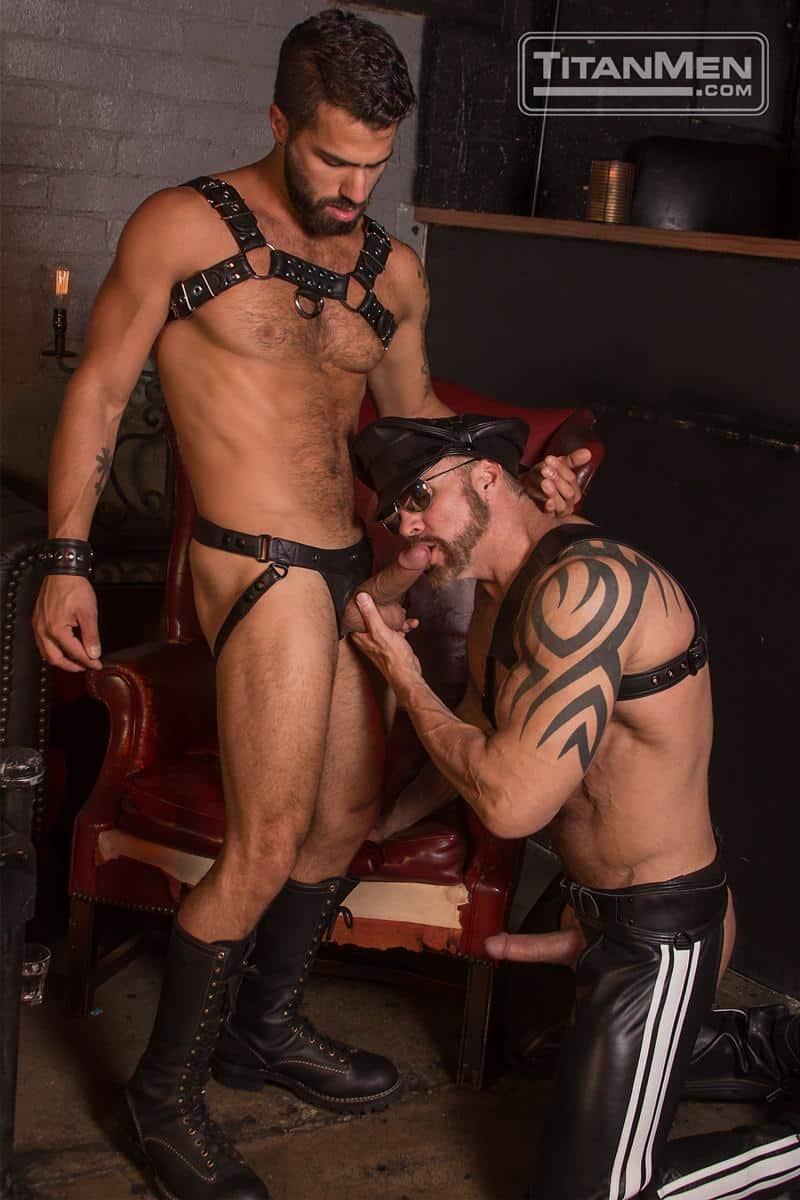 Hottie bearded stud Adam Ramzi huge dick fucking tattooed muscle man Dallas Steele hot hole 12 gay porn pics - Hottie bearded stud Adam Ramzi's huge dick fucking tattooed muscle man Dallas Steele's hot hole
