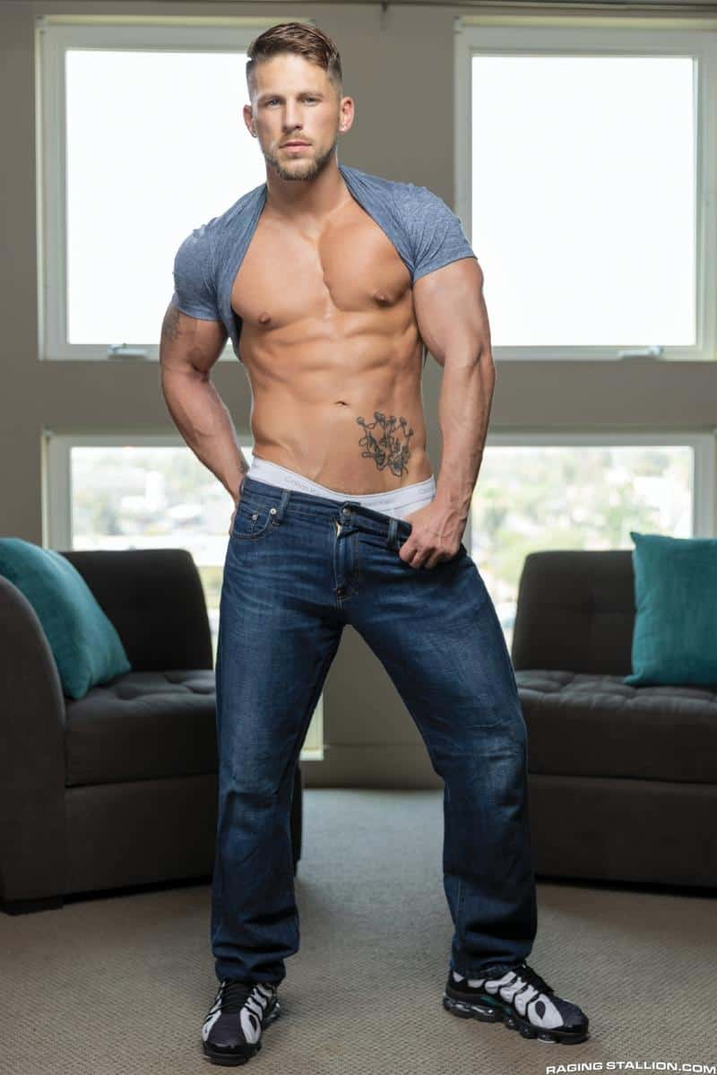 Ripped muscle stud Roman Todd hot bubble ass raw fucked Chris Damned huge thick dick 2 gay porn pics - Ripped muscle stud Roman Todd's hot bubble ass raw fucked by Chris Damned's huge thick dick