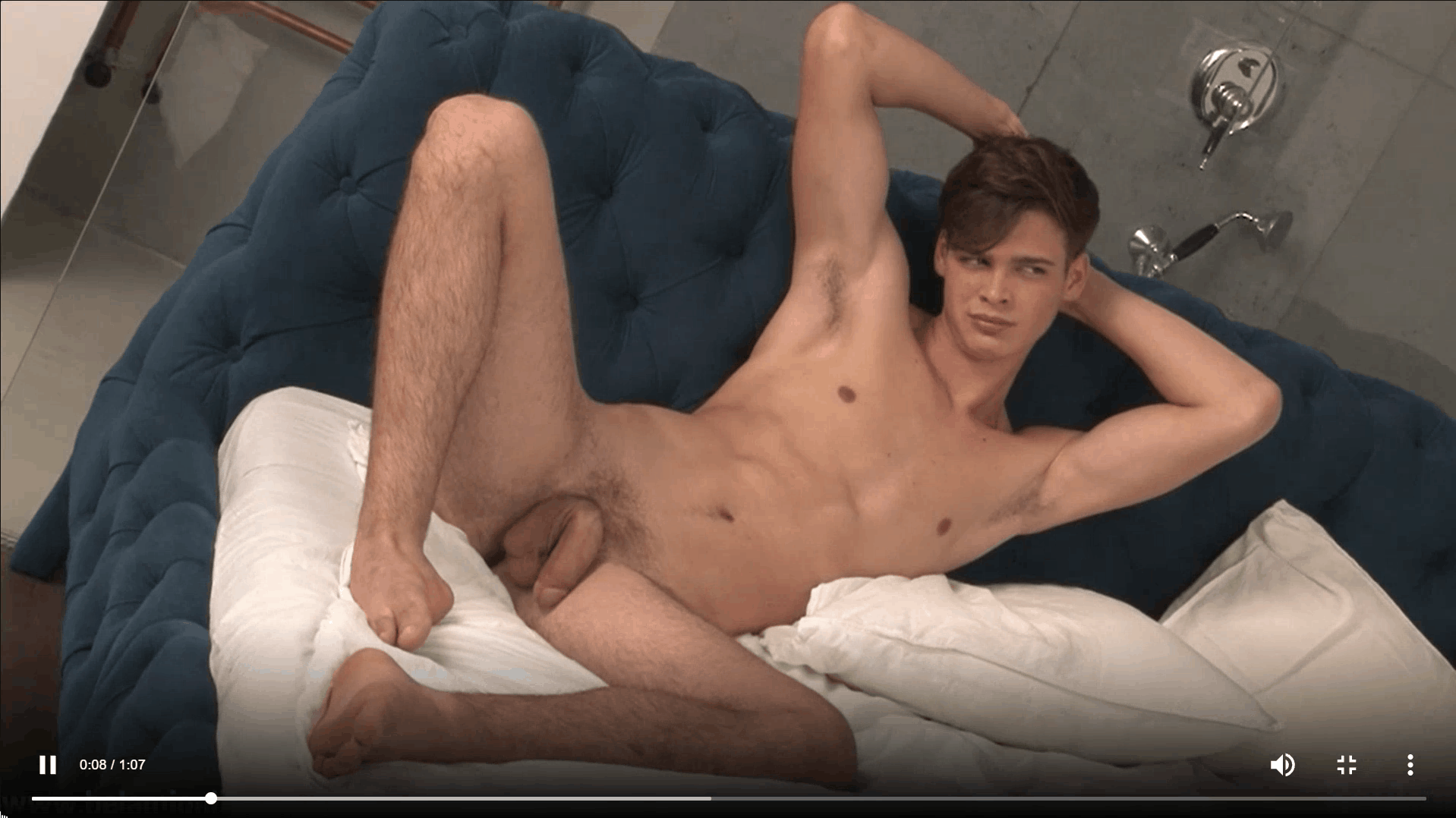 Sexy dark haired young twink Pascal Mauri steps out of the shower stroking big thick uncut dick 10 gay porn pics - Sexy dark haired young twink Pascal Mauri steps out of the shower stroking his big thick uncut dick