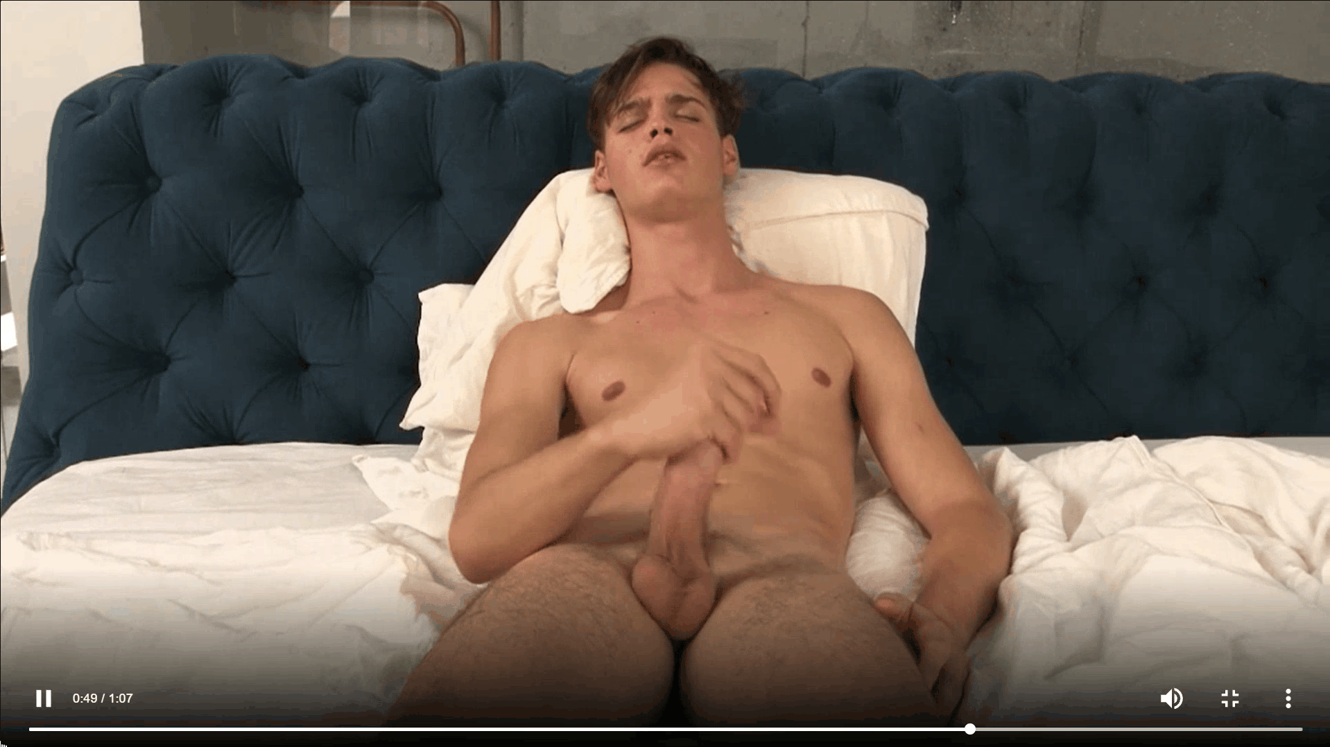 Sexy dark haired young twink Pascal Mauri steps out of the shower stroking big thick uncut dick 13 gay porn pics - Sexy dark haired young twink Pascal Mauri steps out of the shower stroking his big thick uncut dick