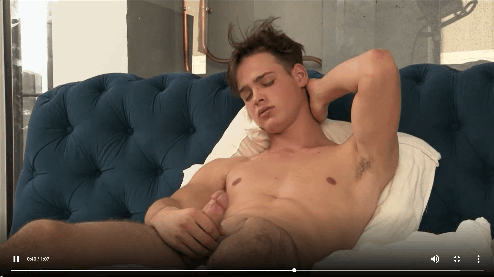 Sexy dark haired young twink Pascal Mauri steps out of the shower stroking big thick uncut dick 20 gay porn pics - Sexy dark haired young twink Pascal Mauri steps out of the shower stroking his big thick uncut dick